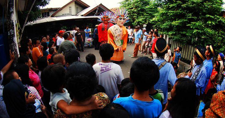 Ondel-ondel, Jakarta, Indonesia