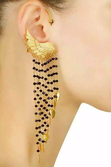 Travel #Jewellery from Aurelle by Leshna Shah #Fashion #Style #Earrings #EarringsGold #EarringsDesign