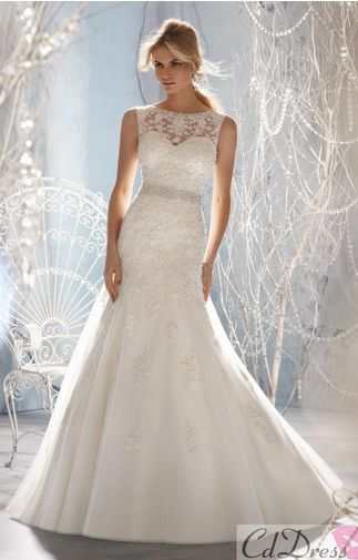So pretty! It's nice because the lace makes it look more weddingy and not as promy.