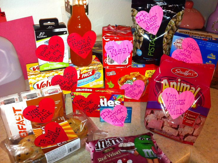 Happy Valentines Care Package to Shane :)