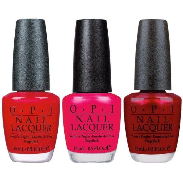 Opi Nail Polish Set ($39) ❤ liked on Polyvore featuring beauty products, nail care, nail polish, makeup, nails, opi, opi nail color, opi nail lacquer and opi nail care