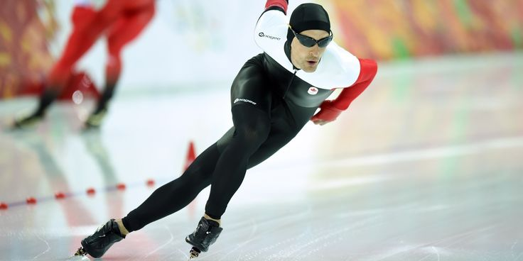 JO Sotchi - Février 2014 - Patinage de vitesse / Longue piste : Le Canadien Denny Morrison cause la surprise et remporte le bronze au 1500 m.