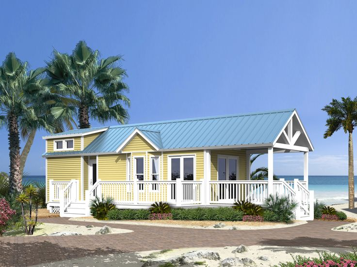 Awesome home to put mom and dad in right on our property for Prefab beach cottage