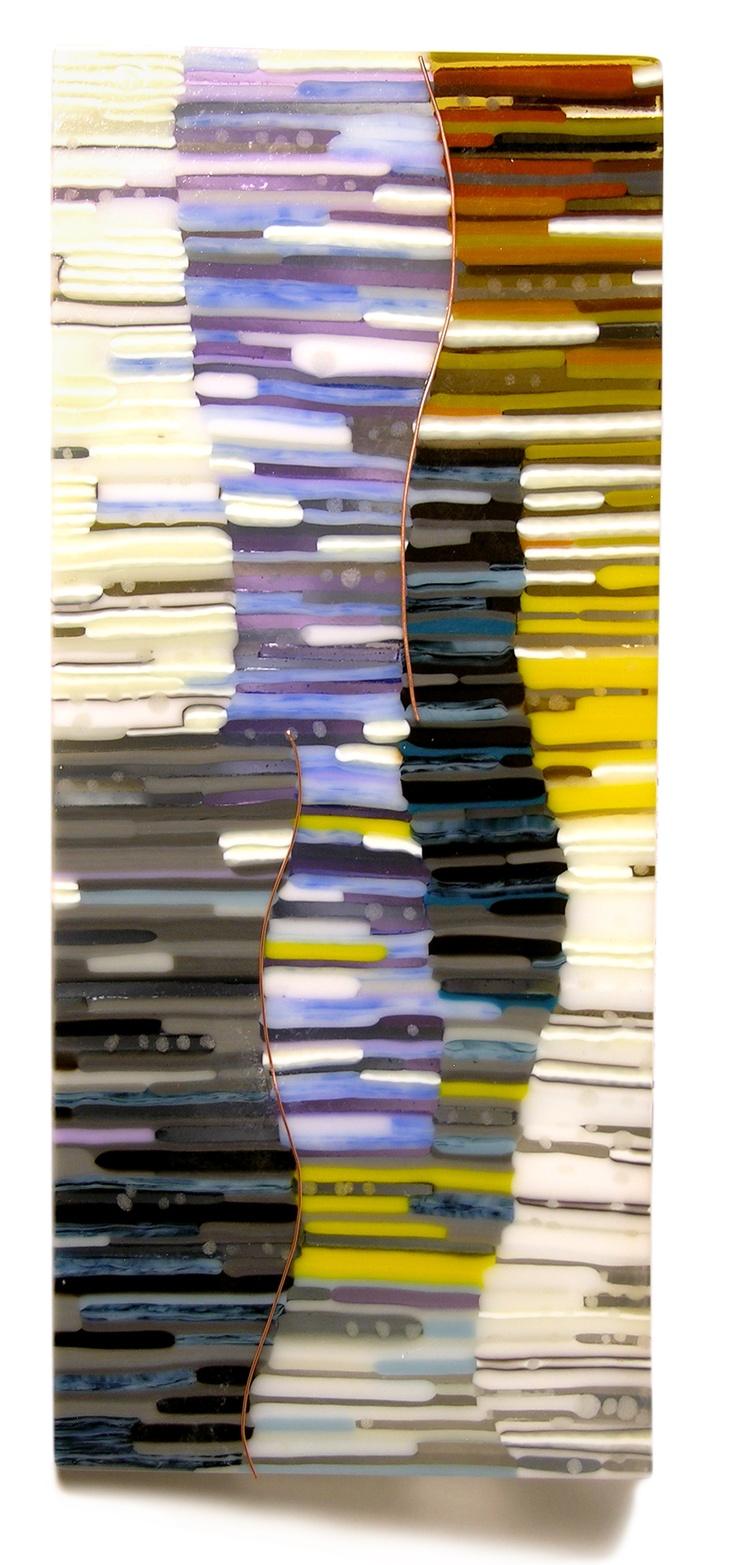 By Kim Brill. Kiln formed glass. www.FusedArtGlassByKimBrill.com