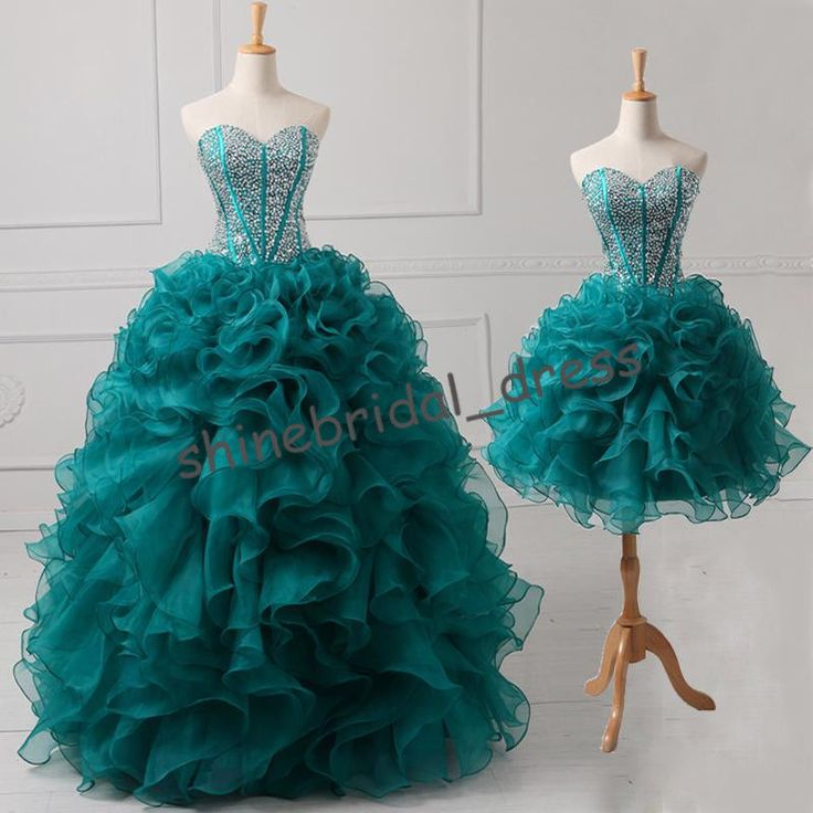 $79-149 Short/Long Teal Cocktail Prom Party Evening Ball Quinceanera Dresses Custom in Clothing, Shoes & Accessories, Women's Clothing, Dresses | eBay