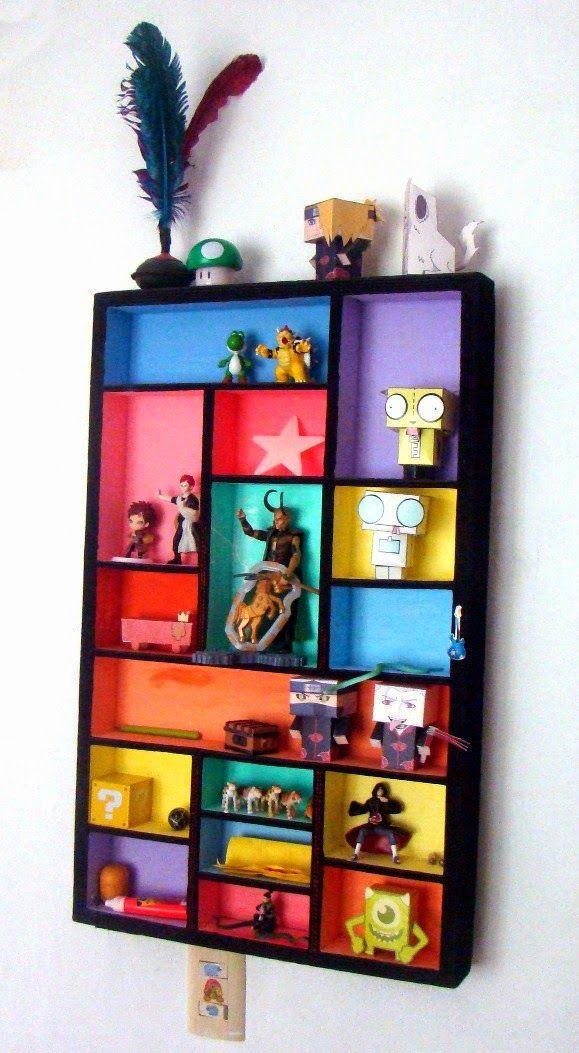 ARKACO: JUGUETERO CARTON. Juguetero de cartón corrugado de 90x50 cm