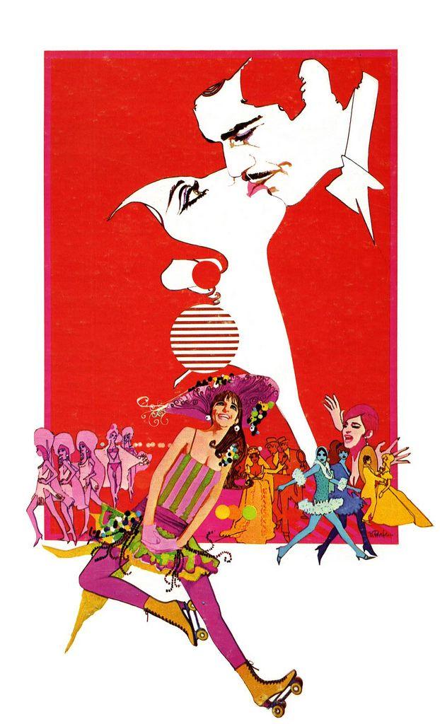 """""""Funny Girl"""" movie poster - Bob Peak"""