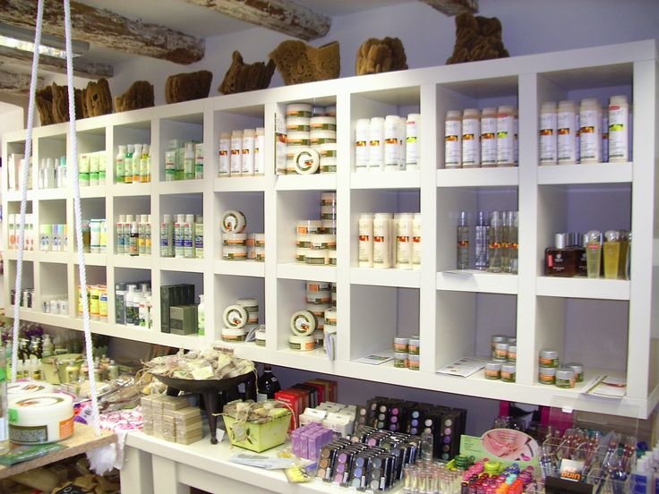 shopping  the land of Corfu cosmetics