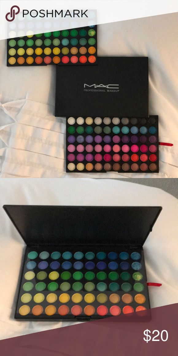 MAC Professional Makeup Eyeshadow Palette Brand New! Dozens of vibrant colors! Perfect for the makeup enthusiast! Makeup Eyeshadow