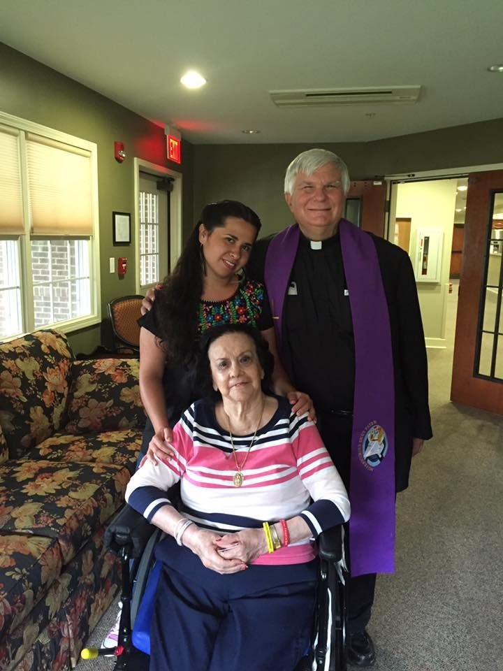 """From Paulist Fr. Bruce Nieli on August 25, 2016: """"My dear friend, Memina Franklin, was called to Eternal Life early this morning. She was a great leader in service to the Hispanic/Latino community in the Catholic Church nationally and in her home Diocese of Memphis, as well as in giving decades of ministry to the children and families of St. Jude's Children's Research Hospital. May she together with her dear husband Ralph rest in the arms of Jesus with Our Lady of Guadalupe at their side!"""""""