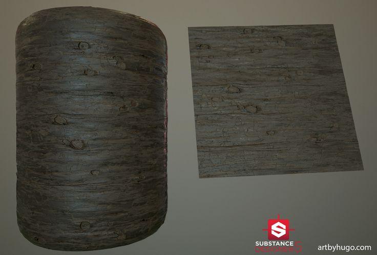 Wood Docks - Procedural Material, Hugo Beyer on ArtStation at https://www.artstation.com/artwork/n4081