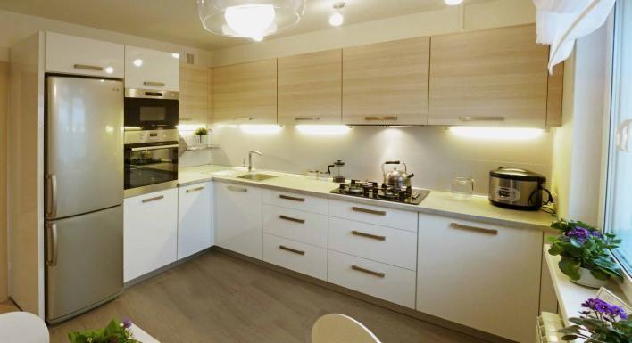Дизайн интерьера кухни 12 кв. м: примеры планировок и фото новинок 2016 года