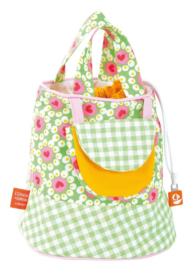 Spirited Mama's gorgeous Flower green handbag sourced from the heart of France.  www.spiritedmama.com