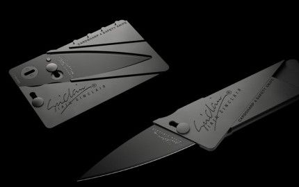 sinclair credit card knife review