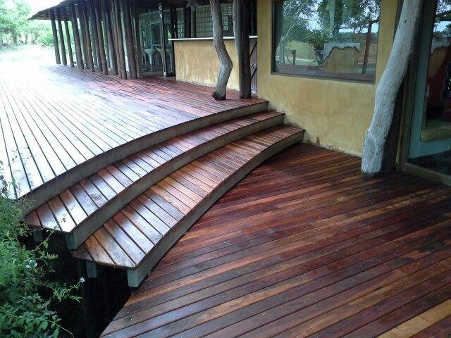 Teak deck done by Decks and Things.  Djuma lodge