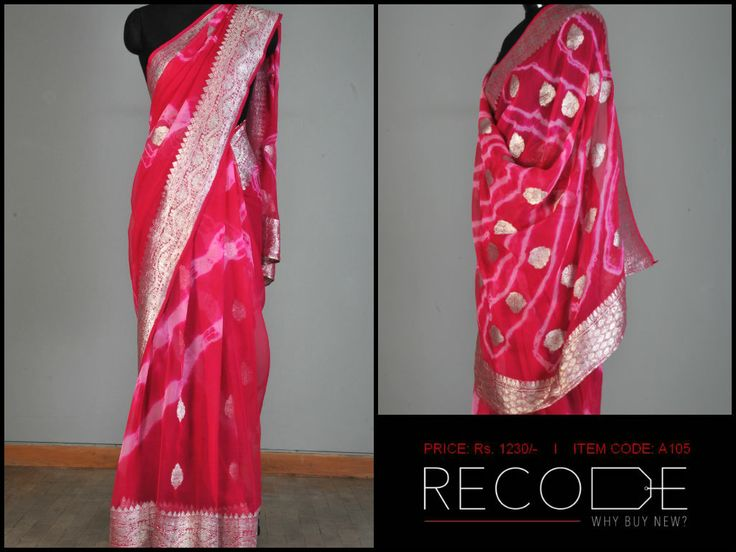 Traditional Gujarati Leheriya! www.facebook.com/Fashion.Recode