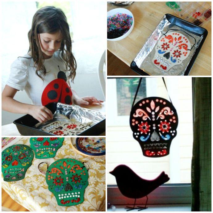 17 Best ideas about Melted Bead Suncatcher on Pinterest ...