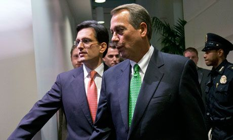 Does Eric Cantor's no vote on the fiscal cliff bill spell trouble for John Boehner? | James Antle