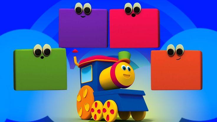 Bob cor trem | Aprender cores nomes | educacional vídeo | Bob The Train ...Bob o trem é um divertido amar trem. Hoje, neste passeio de trem, Bob vai ensinar-lhe bebês sobre todas as cores divertidas e brilhantes. O mundo está cheio de belas cores. Prepare-se para espalhar a alegria de rimas divertidas e canções infantis. #BobthetrainPortuguese #colors #learncolors #Crianças #bebês #Préescolares #jardimdeinfancia #educacional #parentalidade #kidsvideos #kidslearning #criançasrimas…