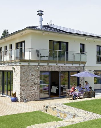 Fassadengestaltung einfamilienhaus beispiele grün  Die besten 20+ Fassadengestaltung Ideen auf Pinterest ...