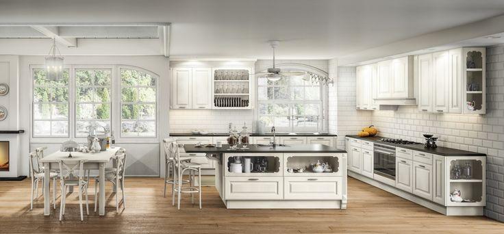 Athena • Cucine classiche by Berloni