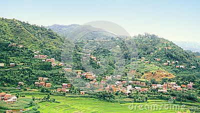 A naturally beautiful place of Nepal -Balthali Village wide view