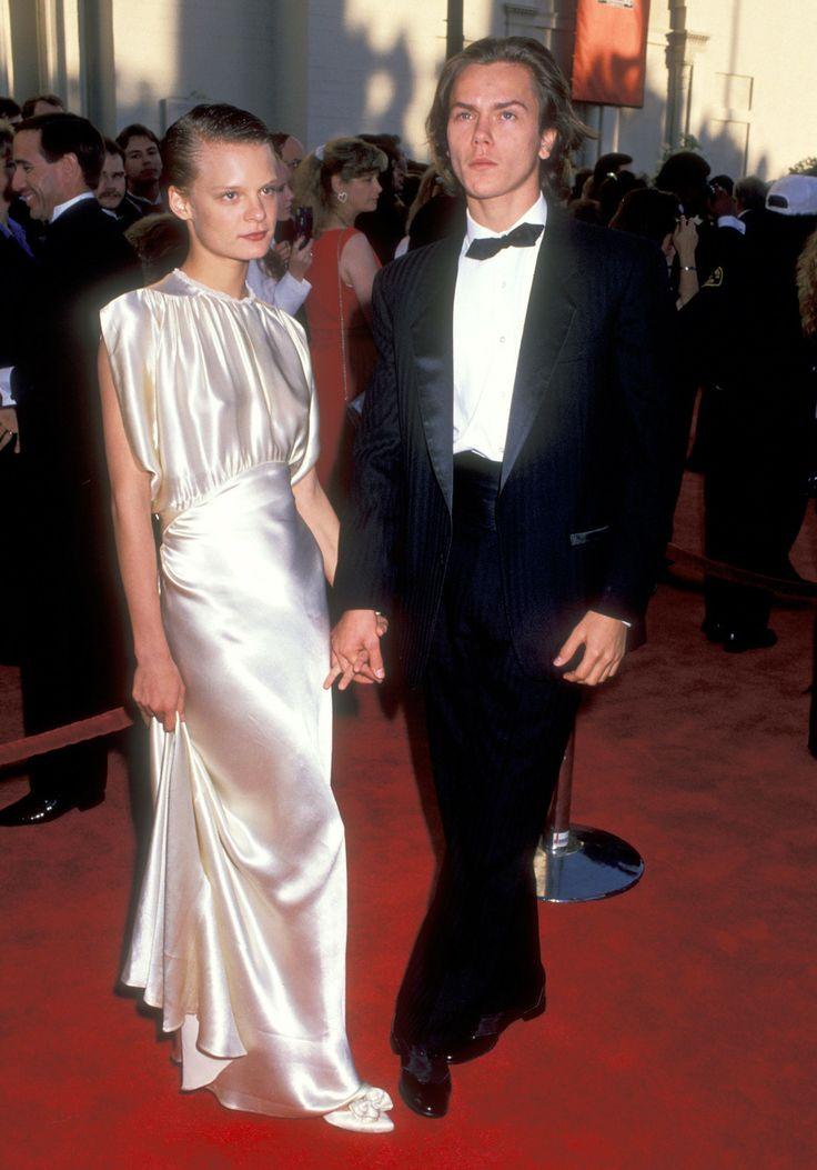 """Martha Plimpton may not like you, but at least her dress was killer."" (Martha Plimpton, River Phoenix, 1989)"