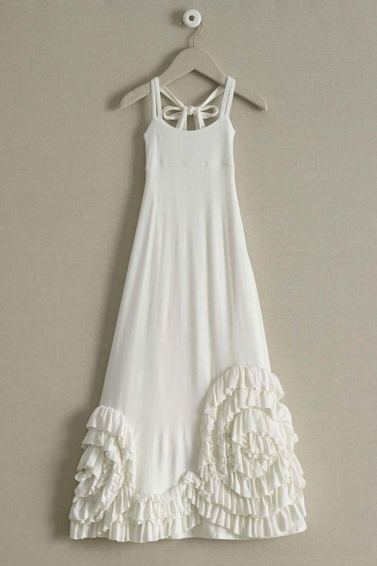 Pixie Girl Solid Swirly Ruffles Maxi Dress: #Chasingfireflies $94.00