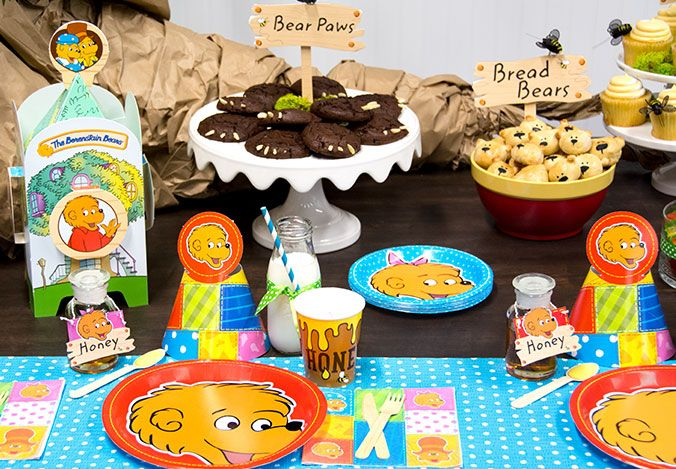 Berenstain Bears party ideas!