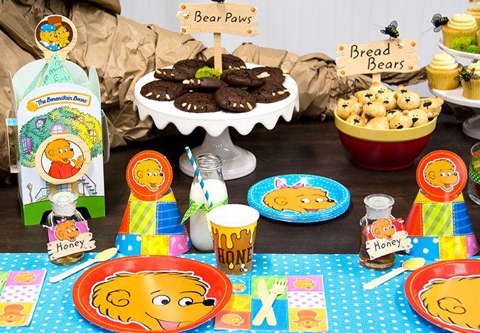 Berenstain Bears party ideas!