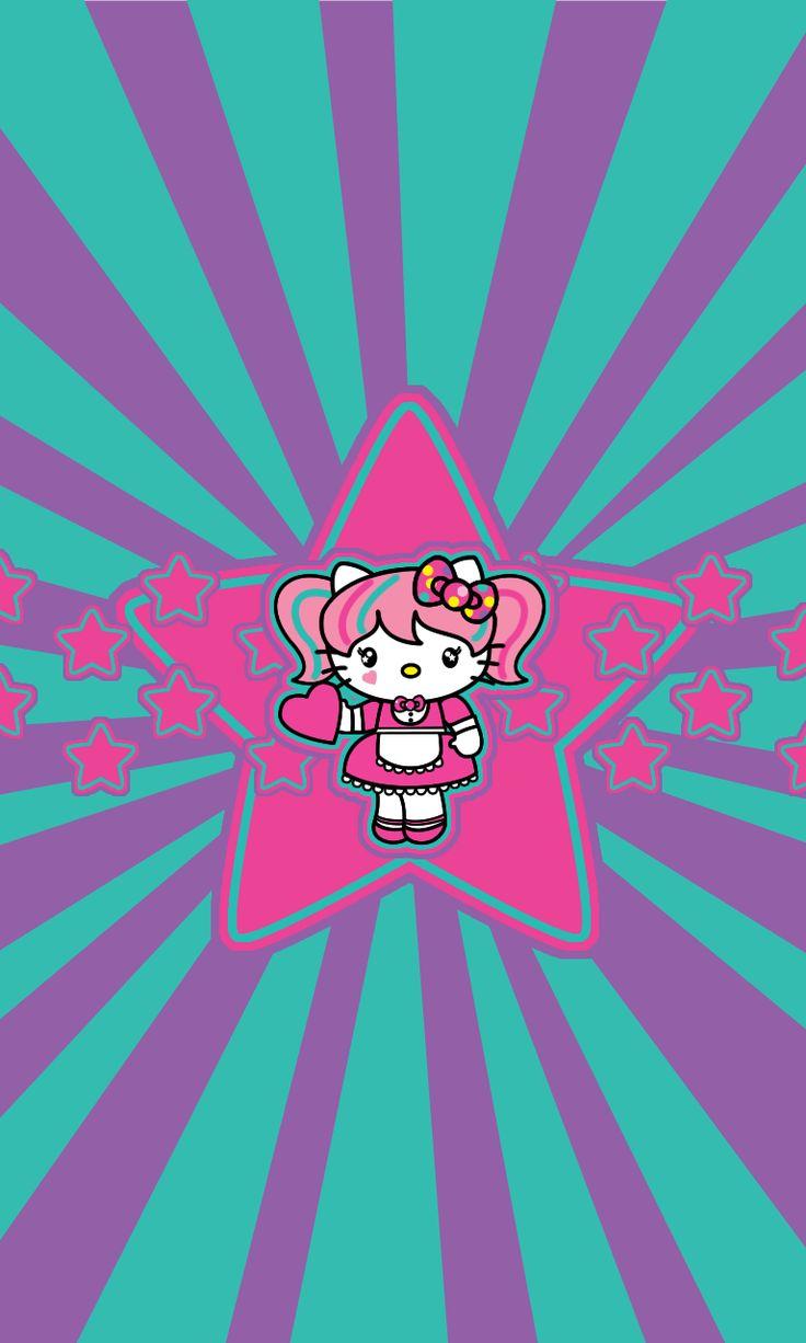 Hola! les traemos nuevos fondos de Hello Kitty! esperemos que les gusten! (incluimos fondos para la BB Z10)  Nosotros hacemos los fondos as...