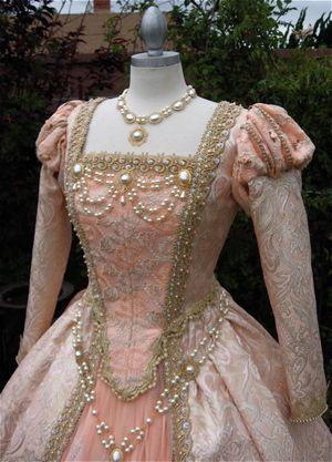 tudor period clothing | Creating an Elegant Renaissance Wedding | Winning Weddings's Blog