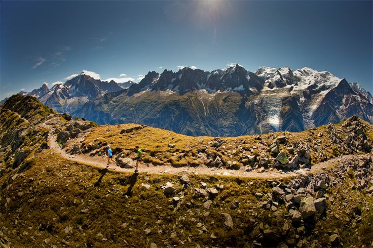 North Face Ultra Trail du Mont Blanc. One day.