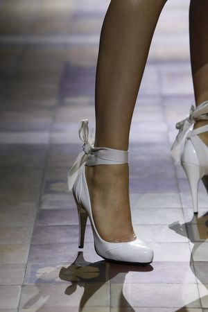 Lanvin Spring Summer 2014 Shoes I want these in black! But i probably will fall and break something in them lol