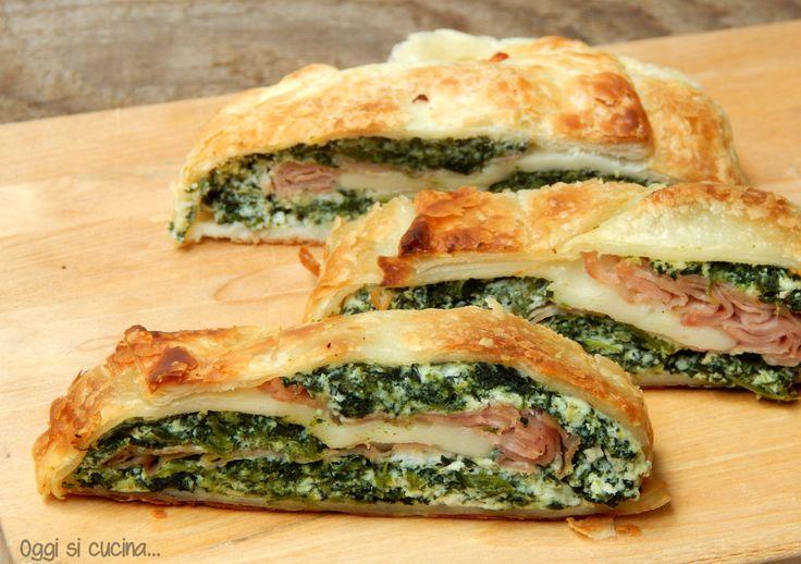 Strudel di ricotta e spinaci http://blog.giallozafferano.it/oggisicucina/strudel-di-ricotta-e-spinaci/