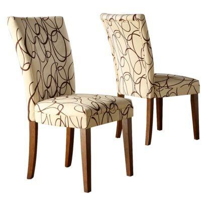 Elizabeth Print Parson Chair