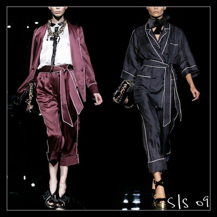 Dolce&Gabbana 2016 Woman Silk Pijama. #dgpijama