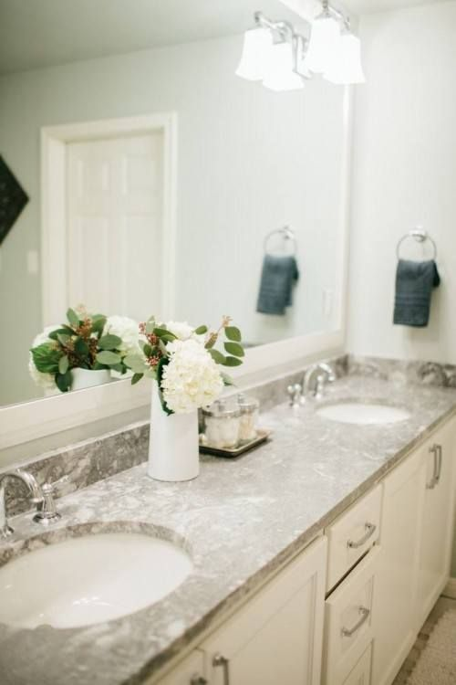 86 best images about bathroom on pinterest magnolia for Joanna gaines bathroom designs