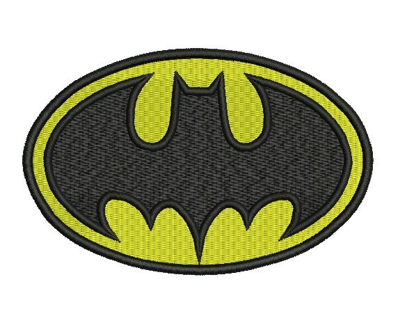 Batman Embroidery Designs Batman Logo Formats Csd Dst
