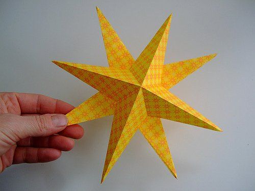 bright paper star tutorial