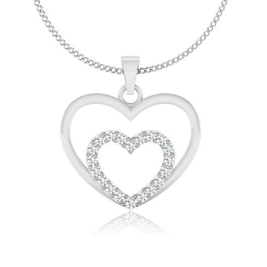 The Gurnima Diamond Pendant P-0016YG