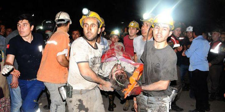 Soma'daki maden faciasında kurtarma çalışmaları sürüyor