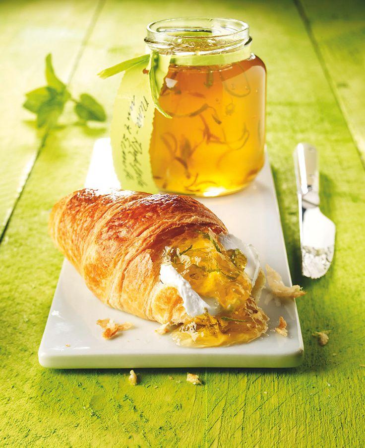 Minz-Apfelgelee mit Limette - In diesem Gelee trifft Minze auf Apfel, eine tolle Kombination zum Frühstück