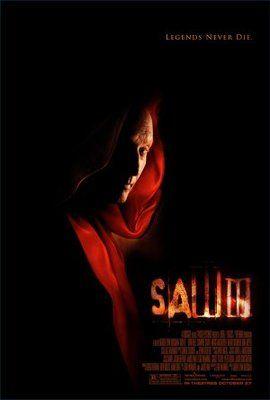 Saw III (2006) movie #poster, #tshirt, #mousepad, #movieposters2