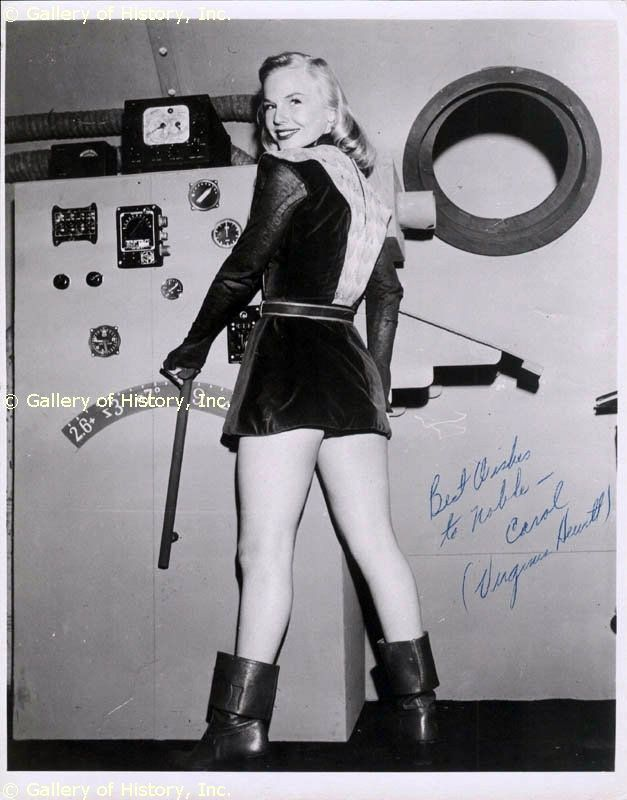 Carol Carlisle daughter of the Secretary General of the United Planets  Space Heroes  the