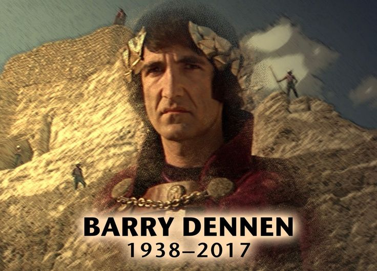 So sad to hear that Barry Dennen has passed away ... he lives on through his amazing voice and his role of Pontius Pilate in the film Jesus Christ Superstar ;(