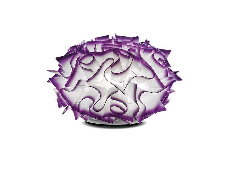 Purple decorating ideas for your home: Veli lamp, Adriano Rachele, Slamp, 2014 | #designbest #homedecor #design @slampSpa |