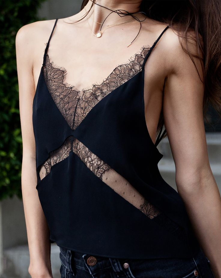 Anabela Lace Camisole | Are You Am I