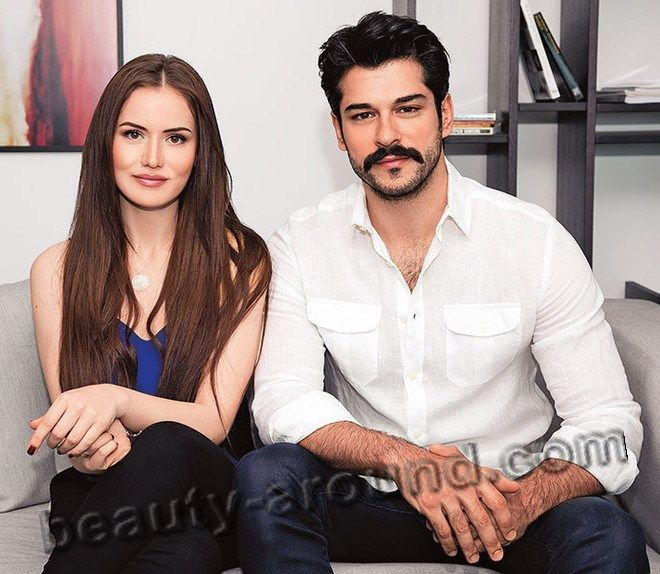 *-* Burak Ozcivit and Fahriye Evcen photo together