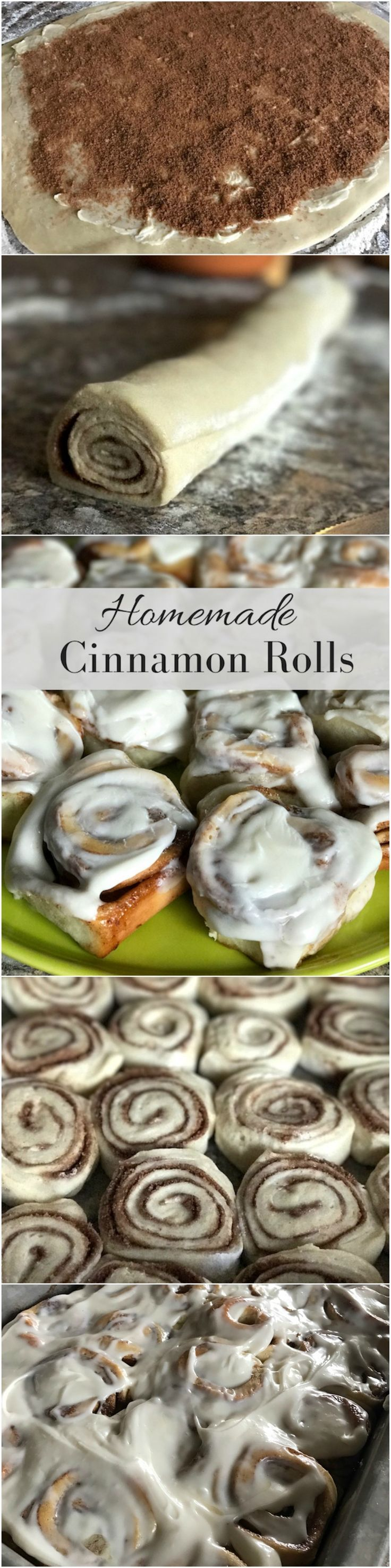 These cinnamon rolls are delicious! It even includes cream cheese icing. It's perfect for brunch, Easter, breakfast, and so many more occasions!